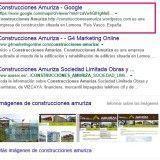 Construcciones Amuriza: análisis web