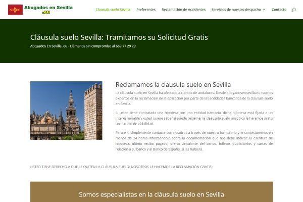 Clausula suelo Sevilla