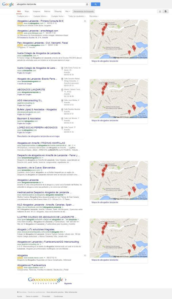 SEO local en posicionamiento web